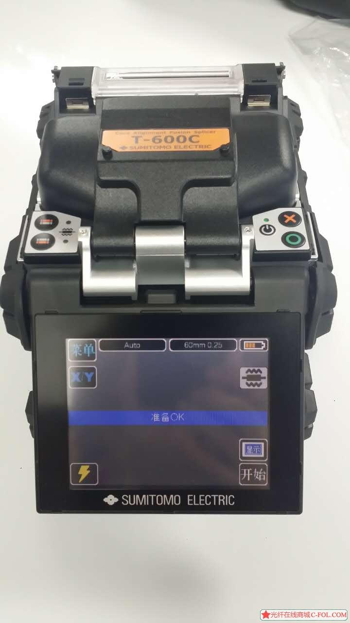 日本住友纤芯对准光纤熔接机T-600C