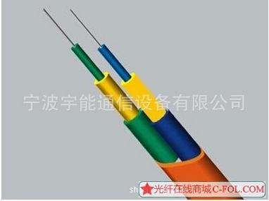 室内外光纤光缆 单模室内2芯扁形光缆跳线