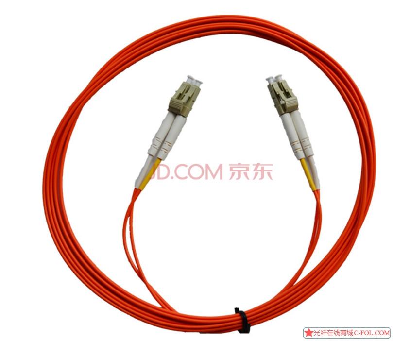 光润通LC-LC-MM-3M双芯双工OM2 网络连接线 品牌保证品质 多模 3米光纤跳线