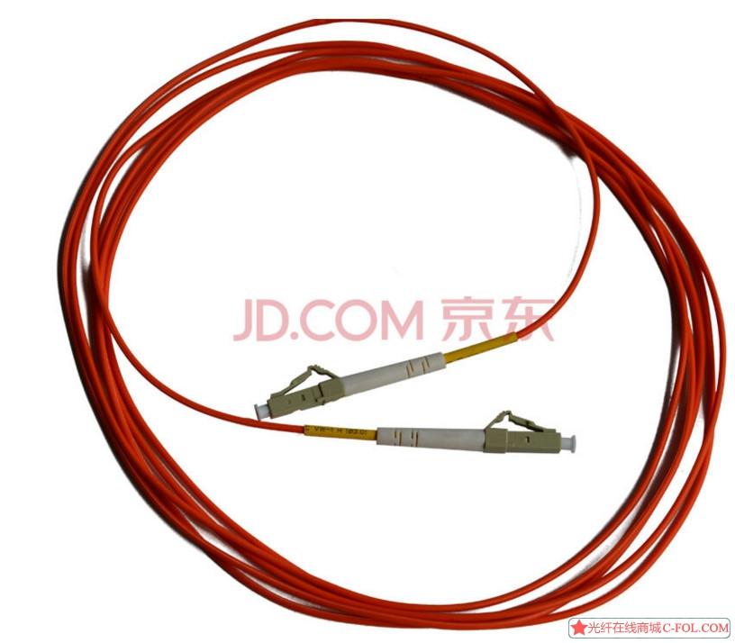 光润通GRT-LC-LC-MM-3M多模单芯单工OM2 品牌保证品质 3米光纤跳线 单根