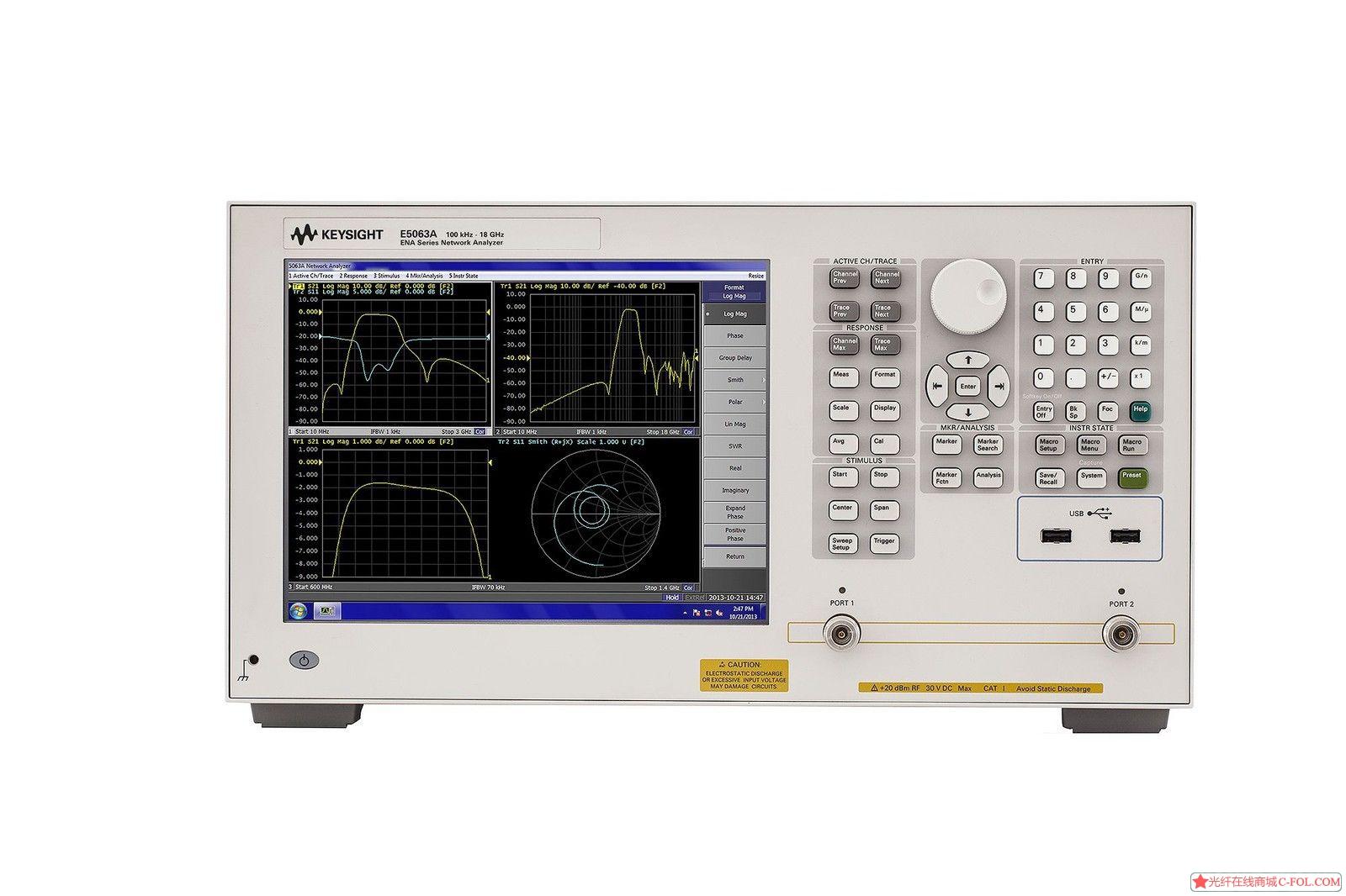 安捷伦 E5063A 网络分析仪4.5G