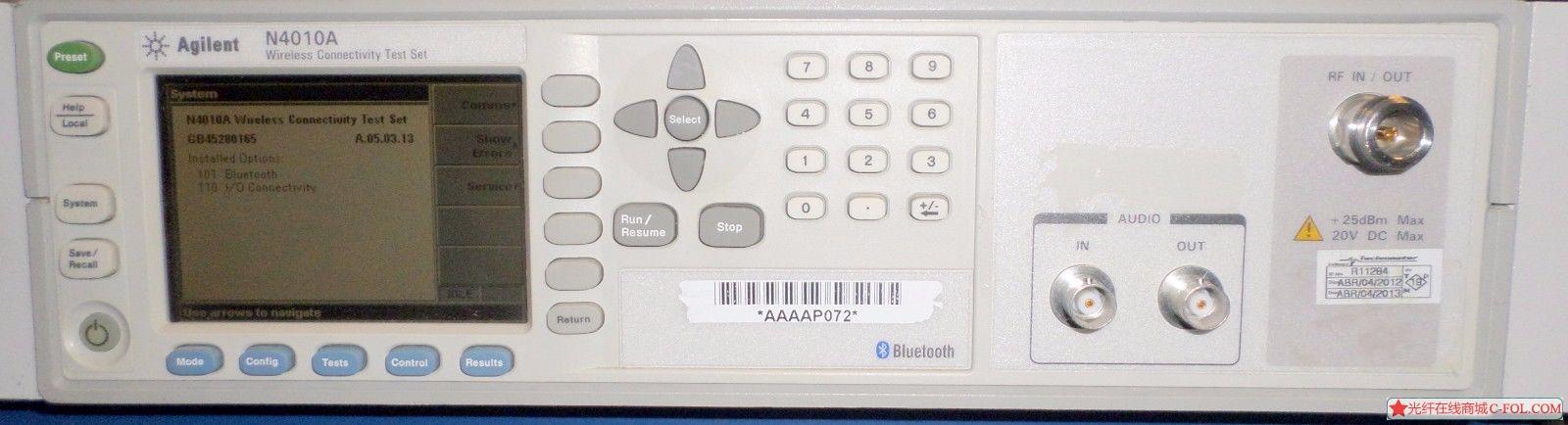 安捷伦  N4010A 无线连接测试仪