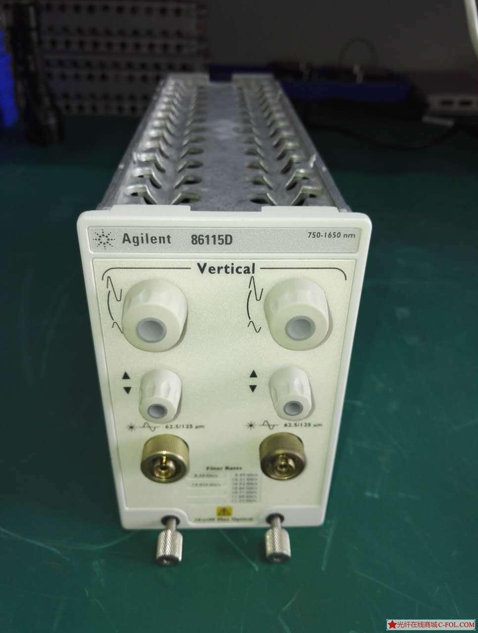 安捷伦 86115D 大规模/并行光收发信机测试模块