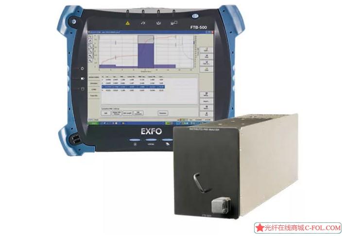 代理原装进口加拿大EXFOFTB-5600 PMD分布测试仪