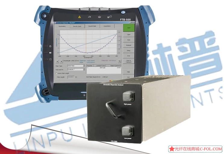 一级代理资质原装进口加拿大EXFO FTB-5700单端色散分析仪