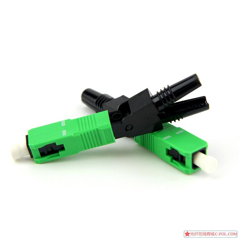 FTTH预埋式SCAPC-01光纤快速连接器