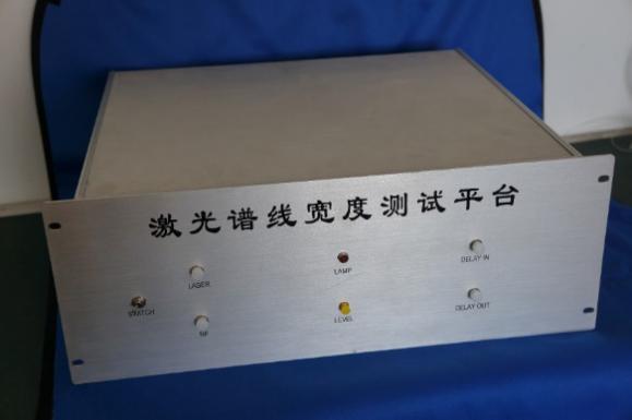 激光谱线宽度测量平台