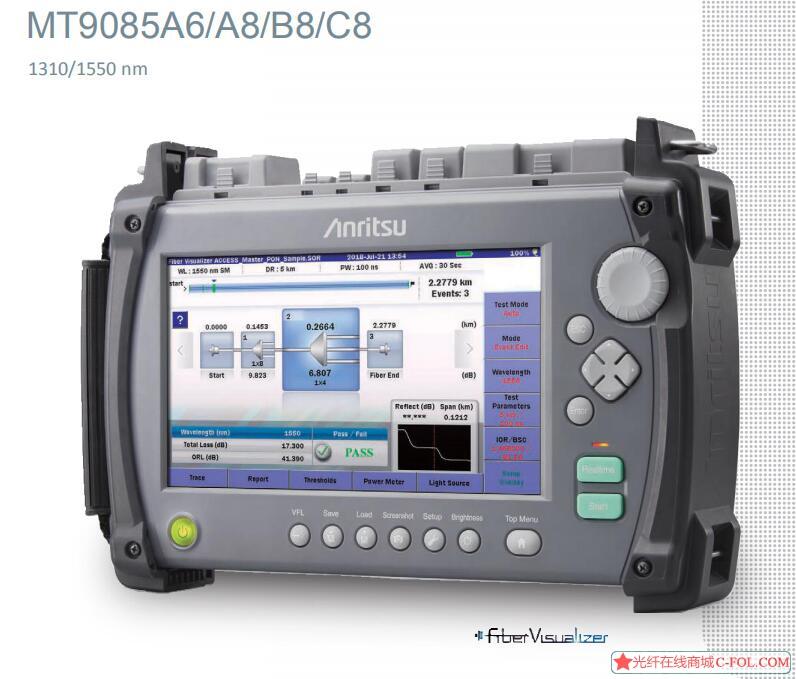 安立MT9085光时域反射仪OTDR