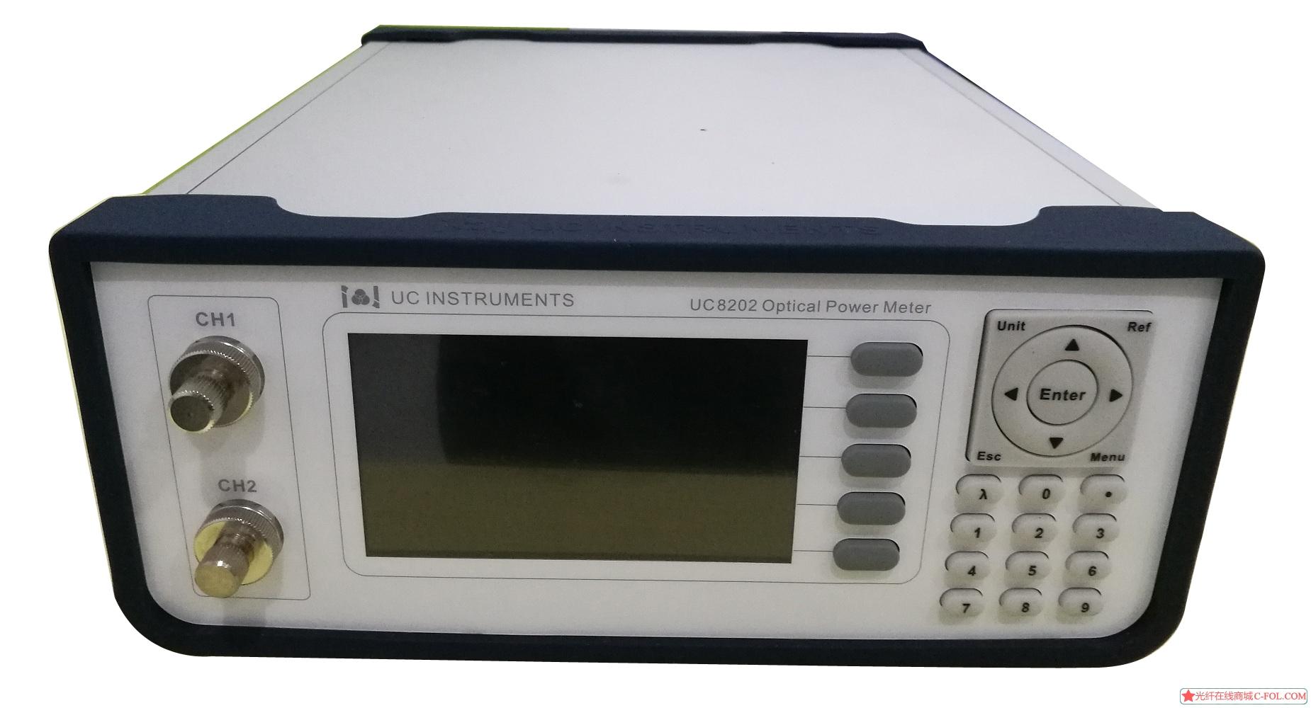 UC8202 双通道光功率计