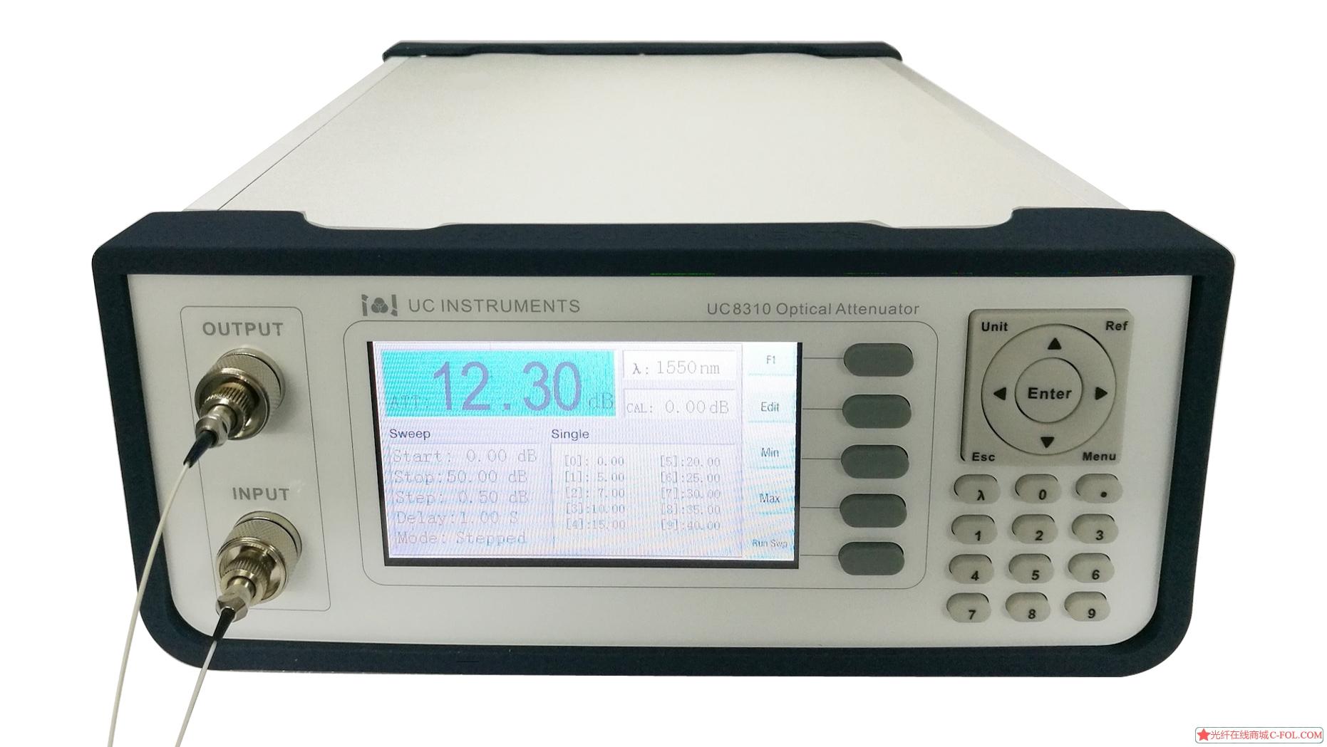 UC8310 台式可调光衰减器