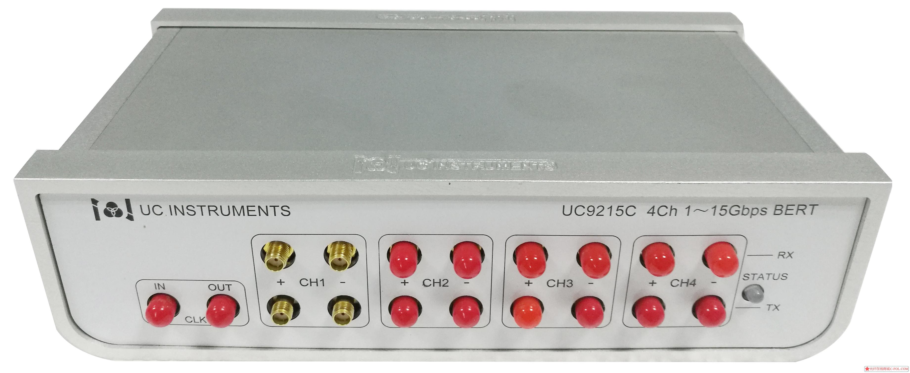 UC9215 四通道1~15G 可调谐误码仪 UC9225C  四通道24.5~29Gb/s可调谐误码仪